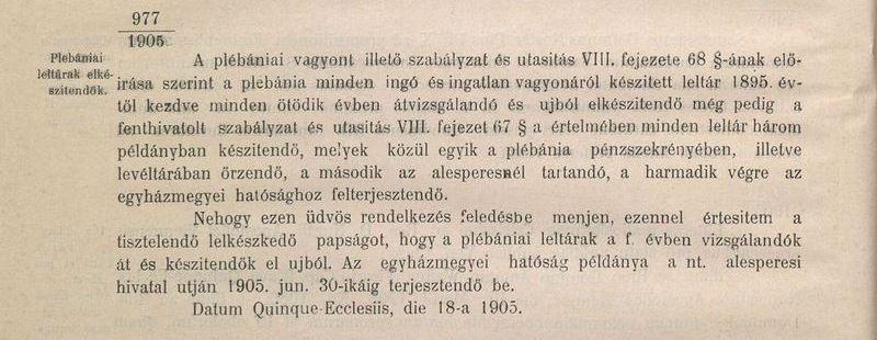 Plébánia- és templomleltárakkal bővült az e-archivum