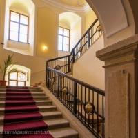 A Levéltár lépcsőháza.