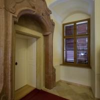 A Levéltár kutatótermének bejárata.